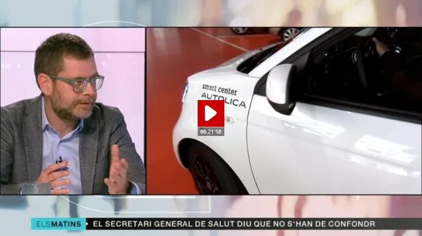 Oriol Alcoba Els Matins de TV3