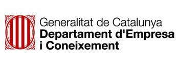 Logo Departament d'Empresa i Coneixement
